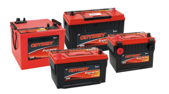 Odyssey Battery picture of batteries