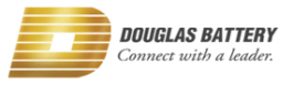 Douglas Battery Brand Logo