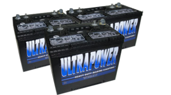 Ultrapower battery photo of batteries